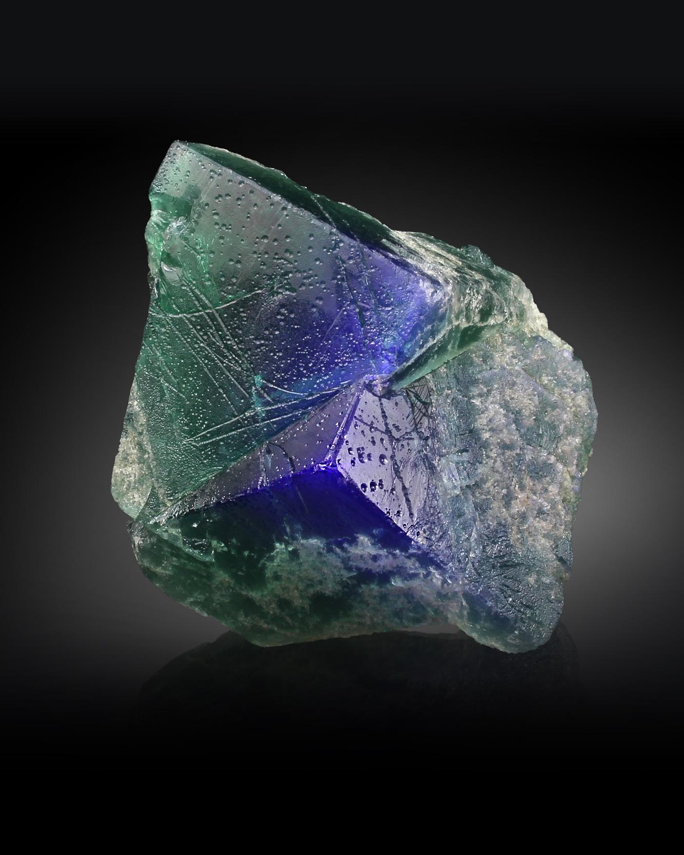 FLUORITE - Rogerley Mine, Frosterly, Weardale,County Durham, England, UK