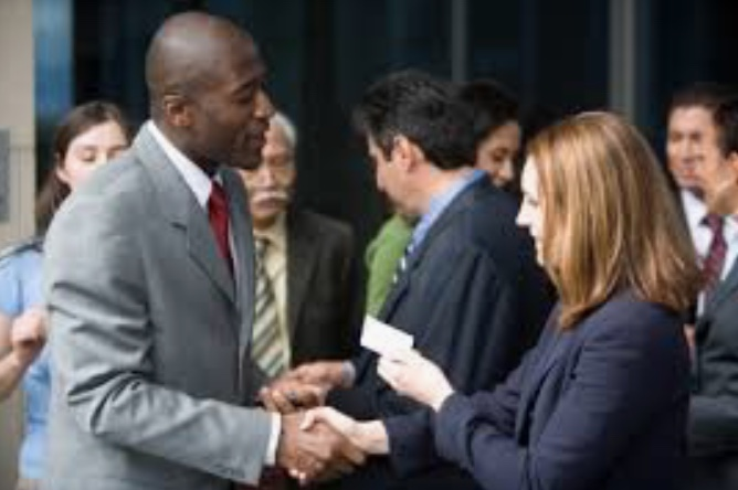 The goal of networking is to get to know people.