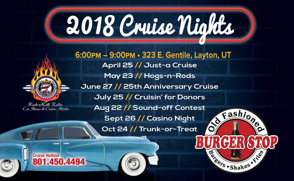 Cruise Night Car Shows Burger Stop Layton Ut 50 S Diner Serving Breakfast Lunch Dinner