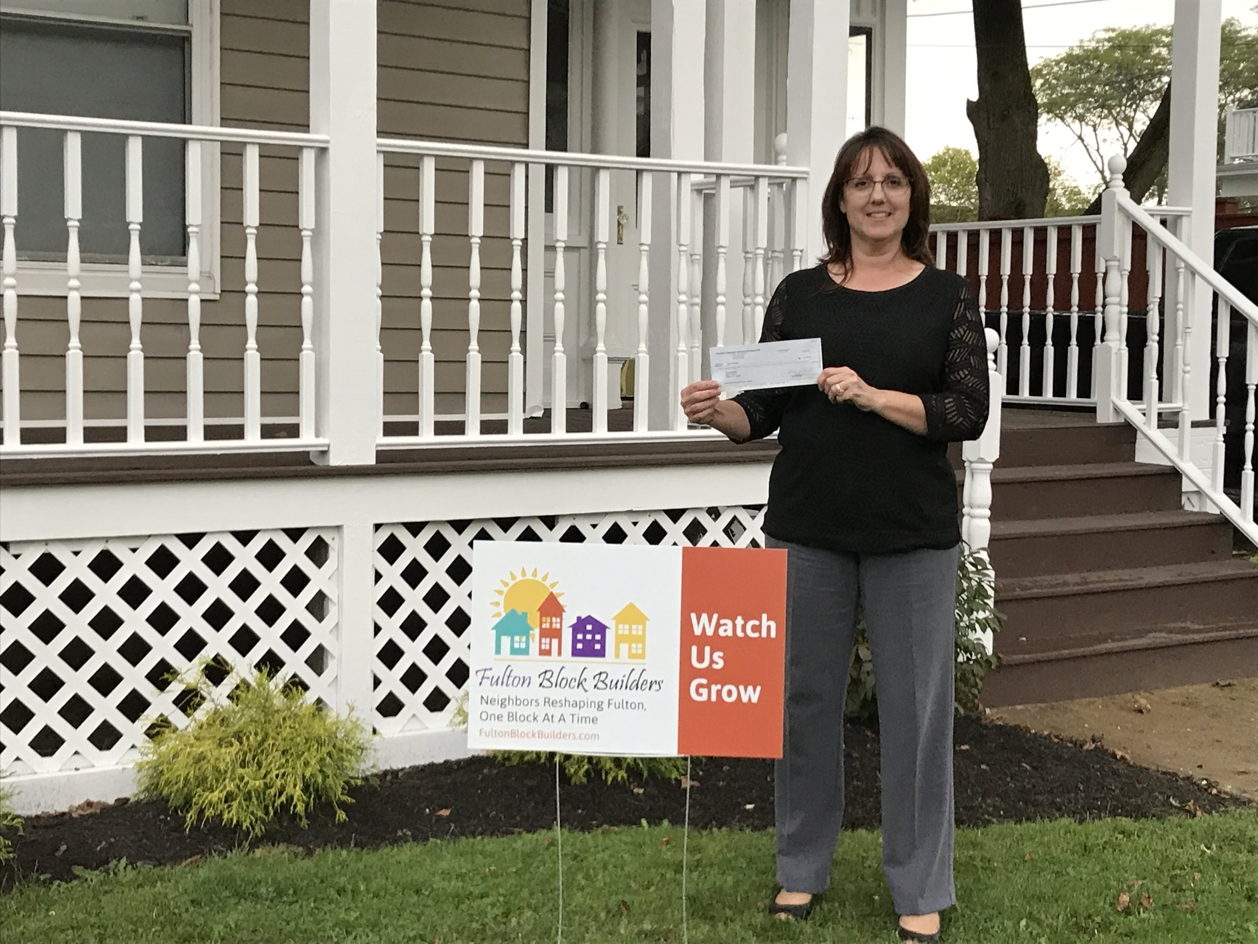 Cheryl Baldwin is just one of several landlords participating in the 2017 Fulton Block Builder Challenge