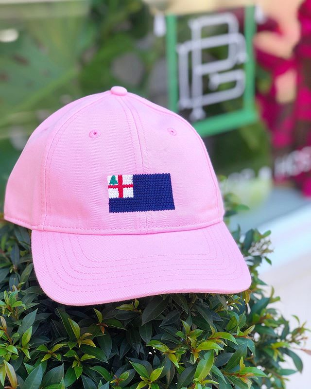 They're here! Pink flag hats!