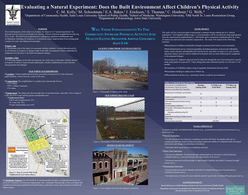 Built Environment and Natural Experiments ALR presentation 2010