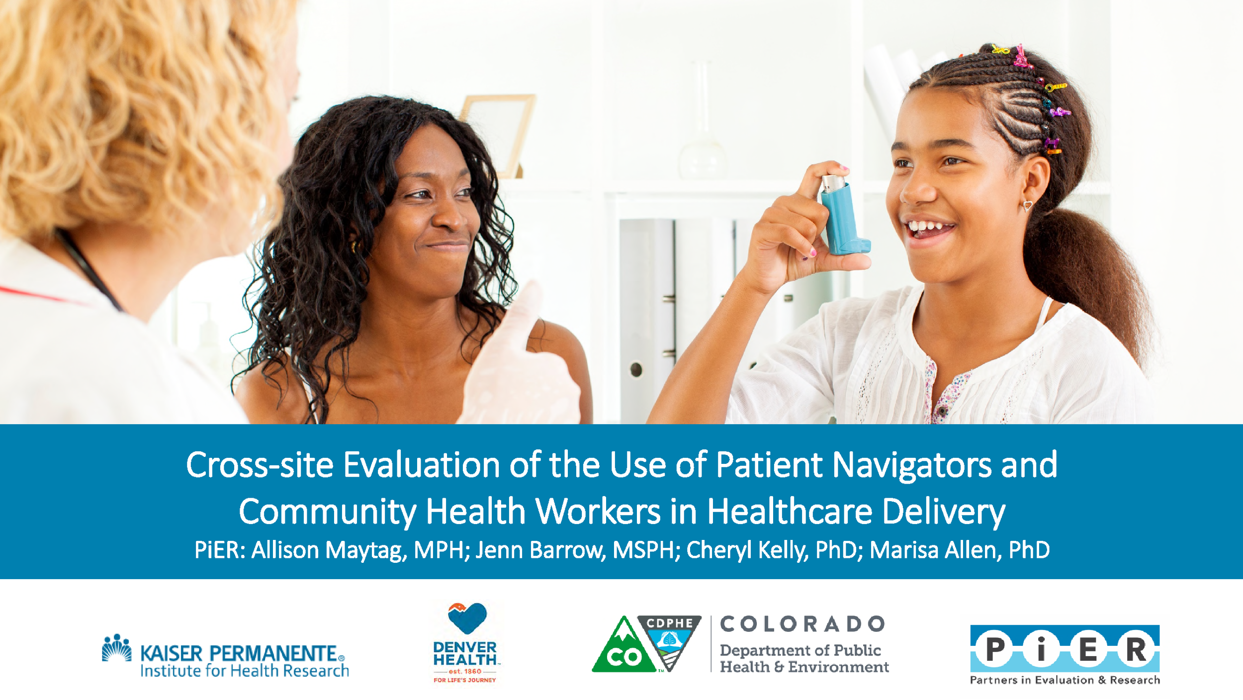 CCPD Patient Navigator and Community Health Worker Evaluation 2018
