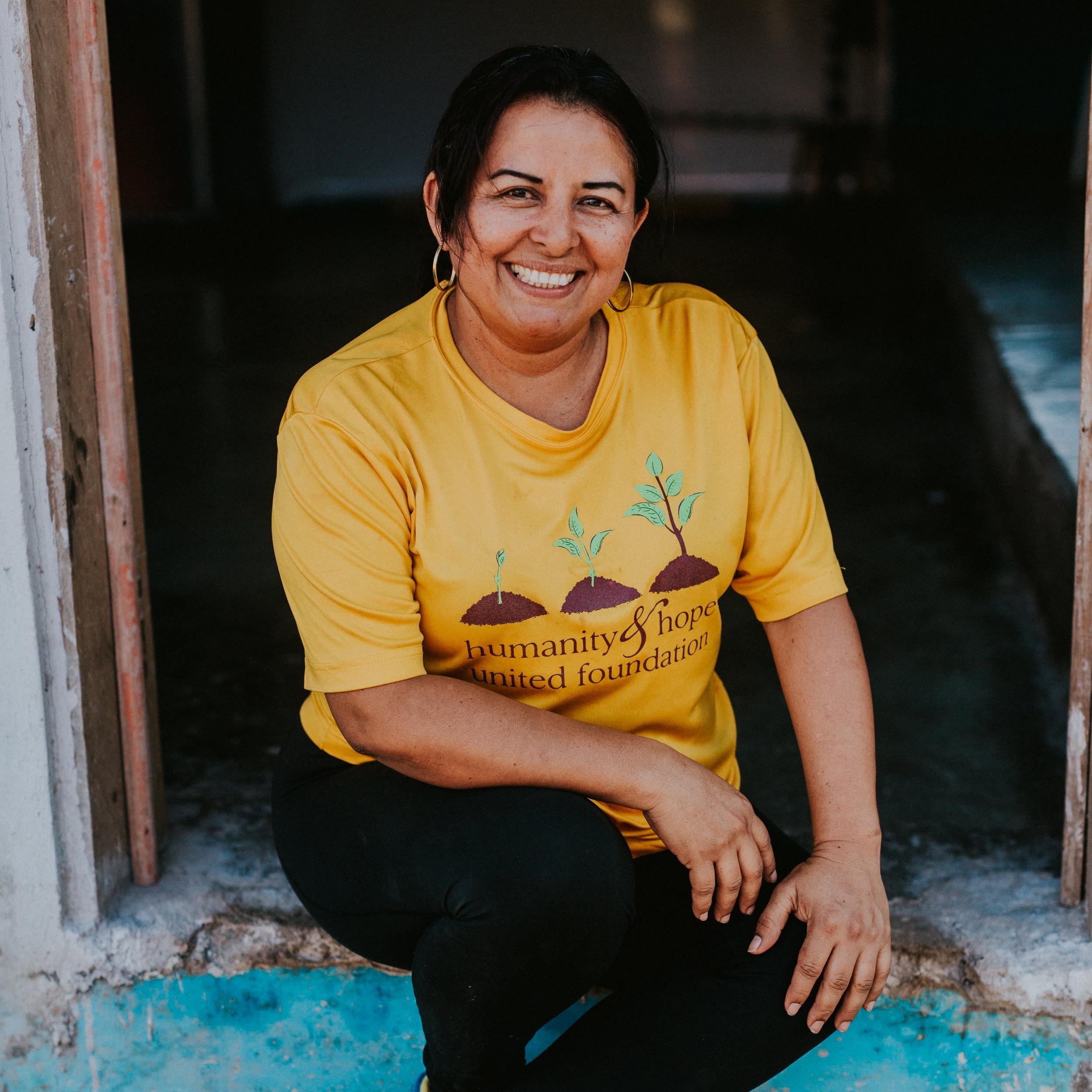 Aminta Suazo,  Family Initiatives Manager