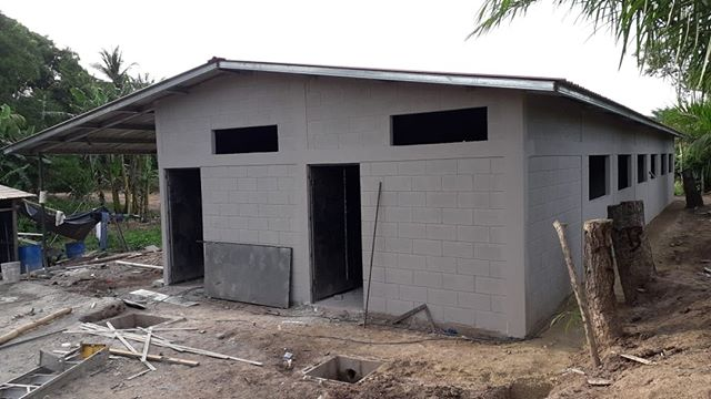 Speaking of education - look how much progress is being made on the school in La Cuchilla!!! This is allowing our students to have a close-to-home environment for learning.      #humanityandhope #learngrowprosper #educationforall #learningforall