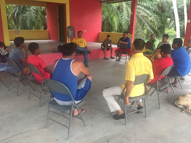 Every other week in both La Coroza and Remolino, our staff (Darwin, Juan, and Roger) lead meetings that are open to all the men in the communities. They discuss any upcoming projects, community issues, and encourage them to step into their roles as leaders.  We believe they all have great potential and each week more and more men show up, which we just love!    #humanityandhope #learngrowprosper #leadership #developleaders #leadershipdevelopment #sustainablecommunity