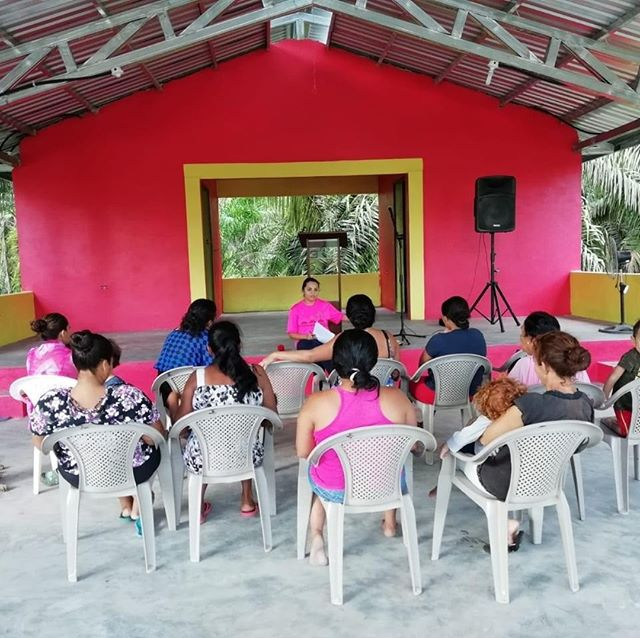 Last summer, this community center was built in La Coroza and it has become a hub for community activity! Remolino also has a community center and when the school is finished in La Cuchilla, they will be able to meet there.  These centers are where health clinics, church days, business meetings, and more take place. We are grateful to have these buildings in each community in order to continue to bring everyone together.