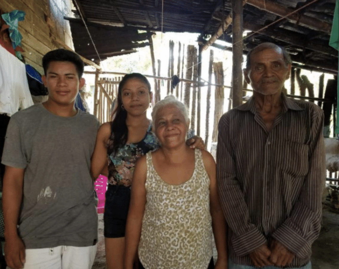 Luis, Ana Laura, Gertrudis, Blas