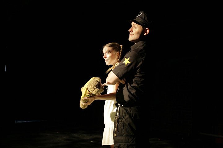 Urinetown  at Hudson Stage Theater; NYC.