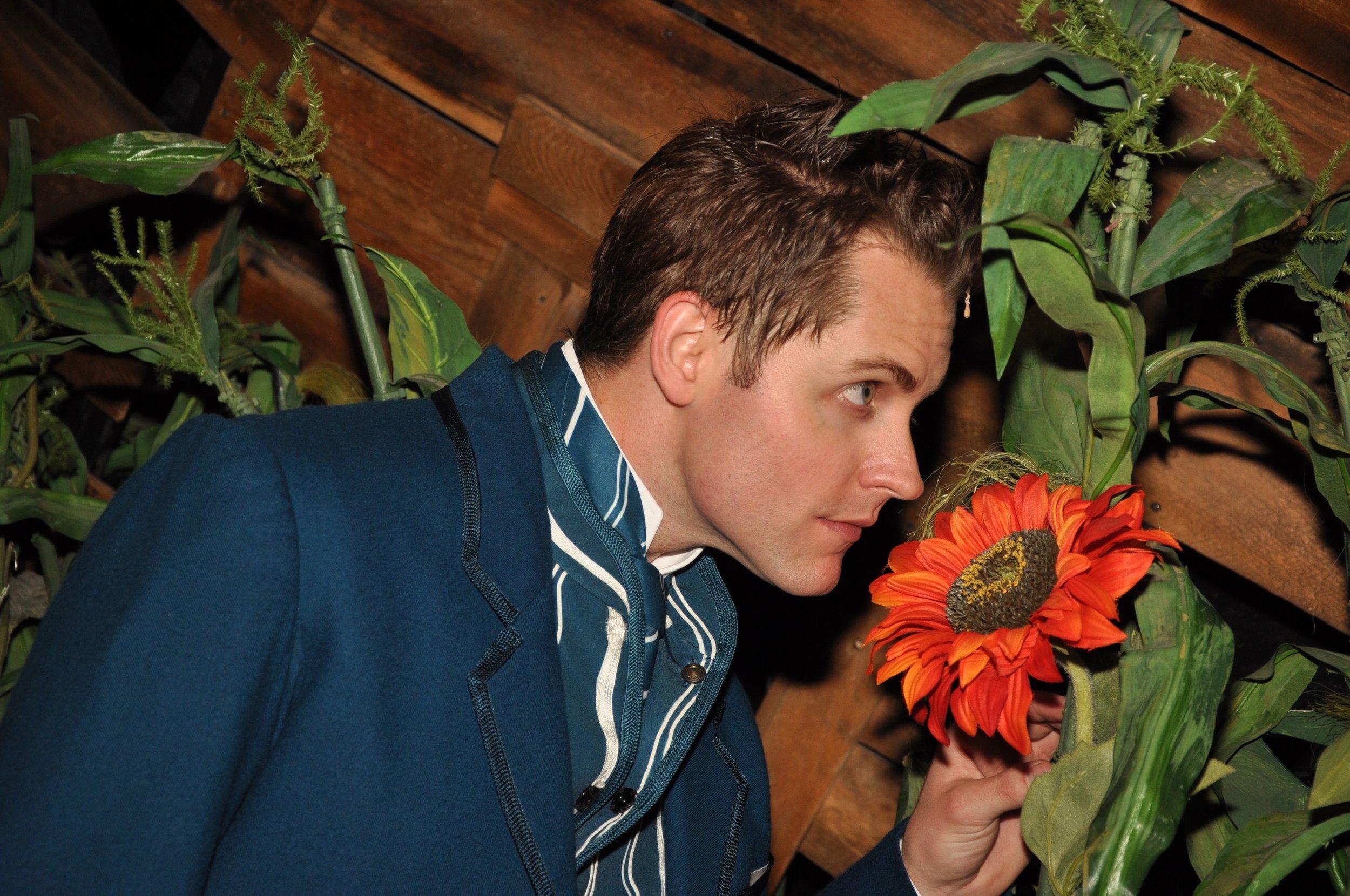 "Michael as ""Fiyero"" in  Wicked  on Broadway; NYC"