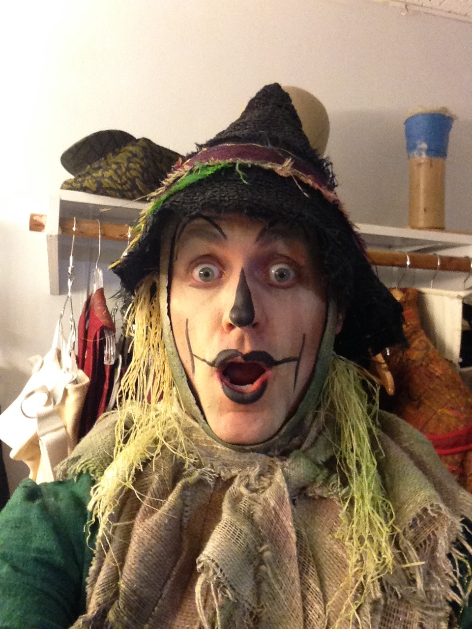 "Michael as ""Fiyero"" in  Wicked  on Broadway; NYC"
