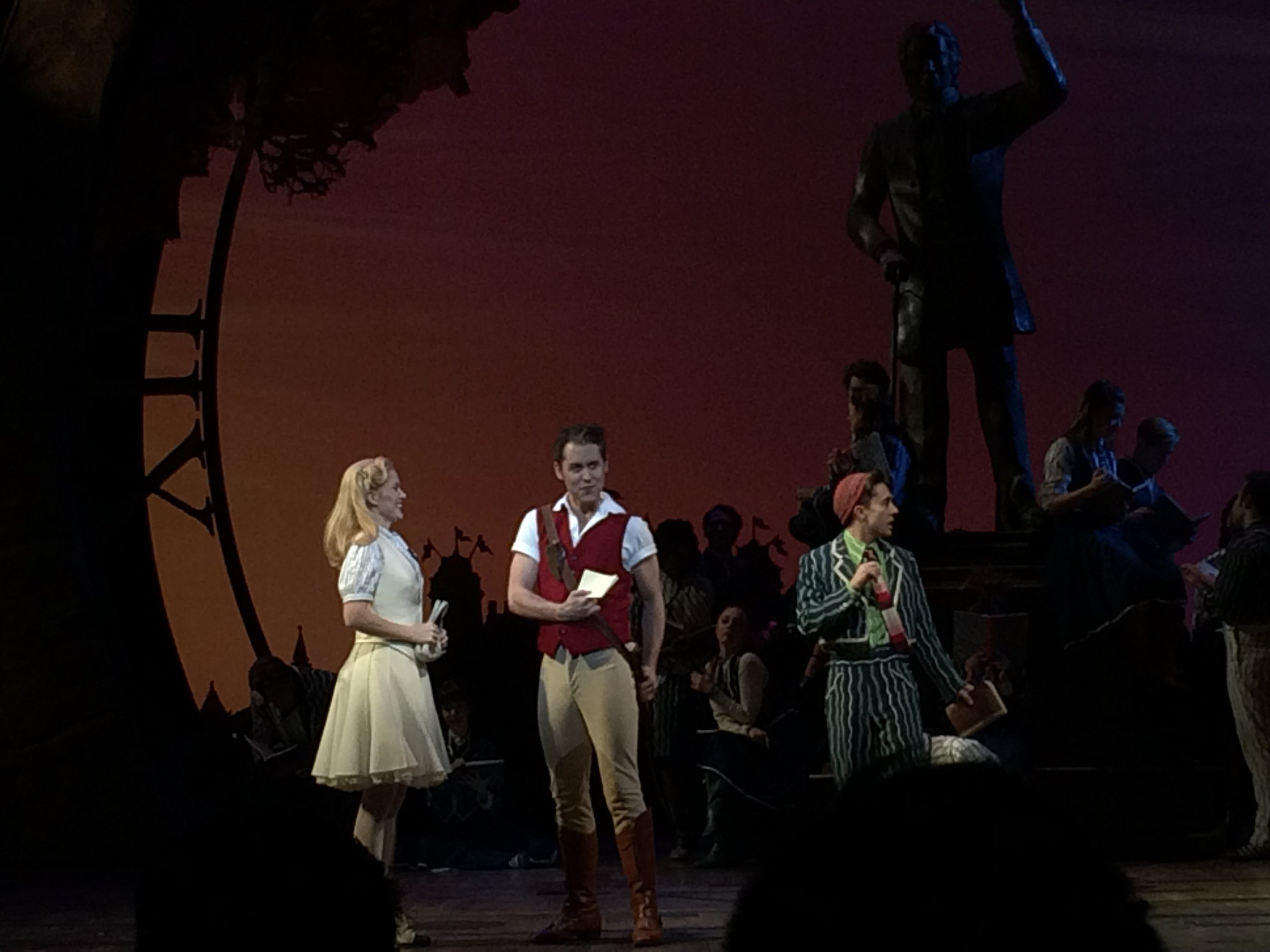 "Michael as ""Fiyero"" in  Wicked  on Broadway with Lindsay K. Northen and Michael Wartella; NYC."