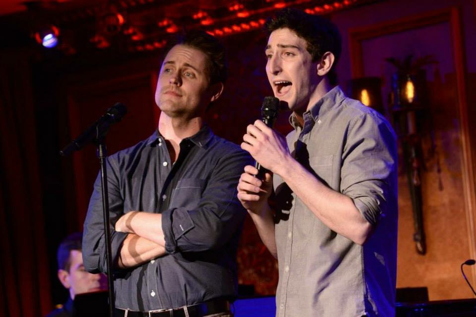 Michael and Ben Fankhauser at 54 Below; NYC.