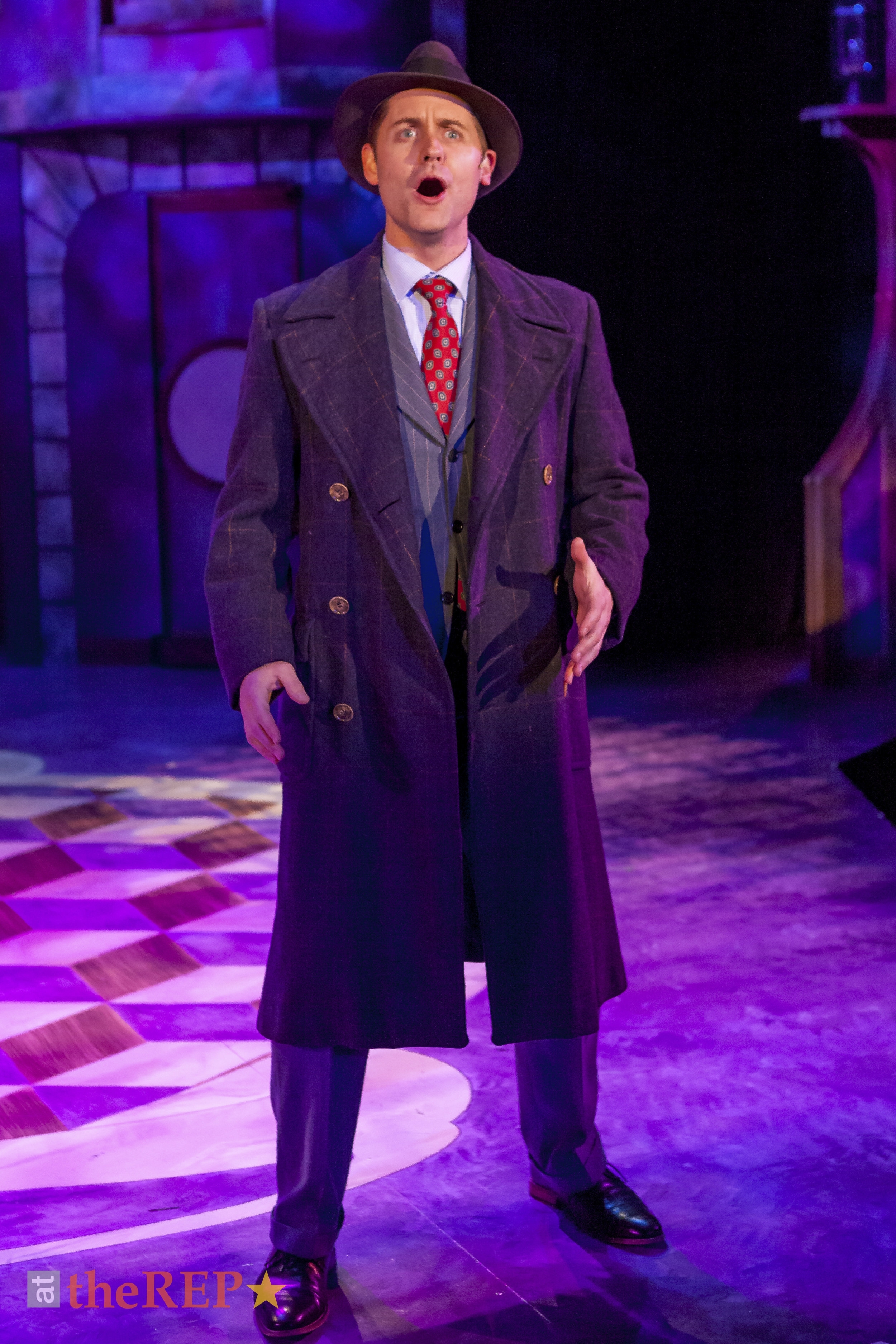 "Michael appears as ""George"" in  She Loves Me  at Capital Repertory Theater."