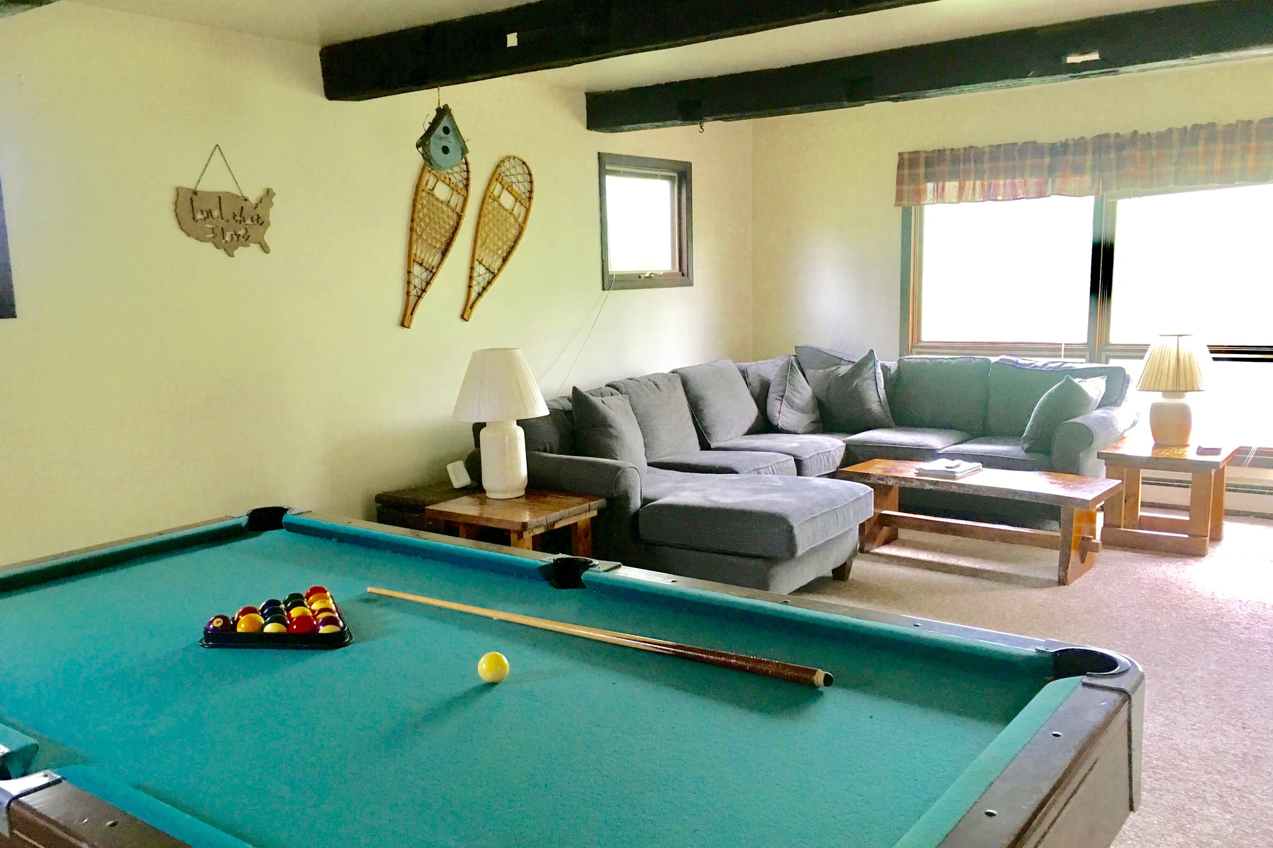 Hudson Hollow    Vacation Rental  (Pet-Friendly)  Three Bedrooms (Queen + Full + Two Twins), Shared Bath • from $149