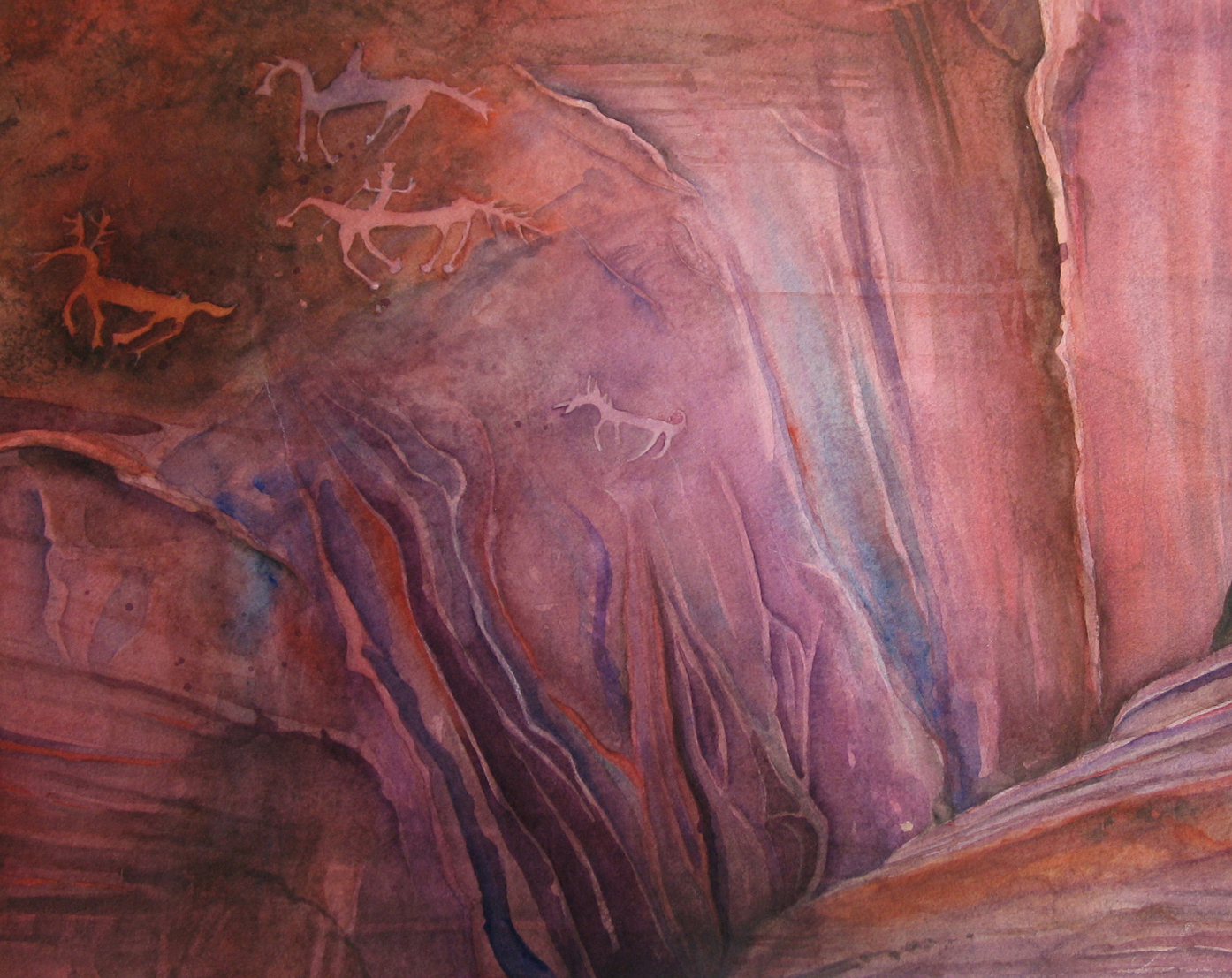 """Canyon Colors"" 23 1/2"" x 31"""