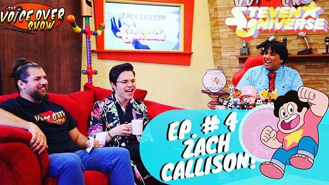 New episode of #TVOS Featuring @zachcallison #stevenuniverse himself launching @5pm Est