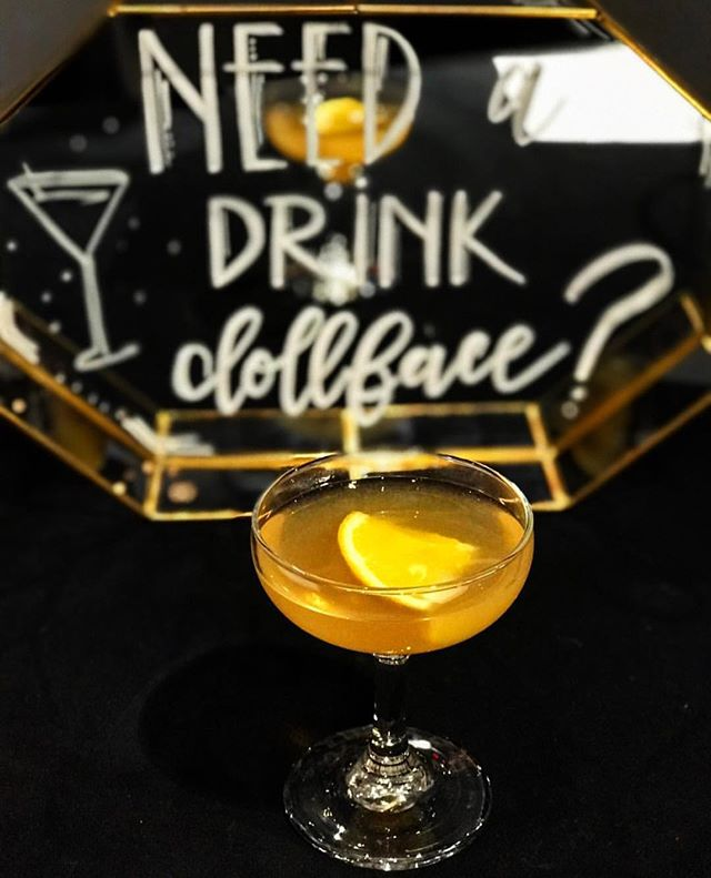 Need a drink dollface? Gatsby would definitely approve of our libations! 🥃 🖋: @anteaamoroso