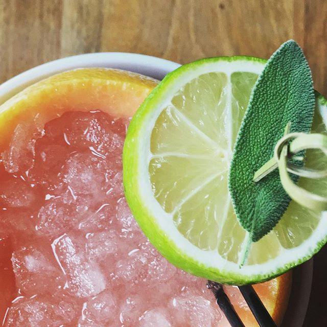Drink crushing on this grapefruit cocktail over at @littledonkeyboston! One of Boston's best!