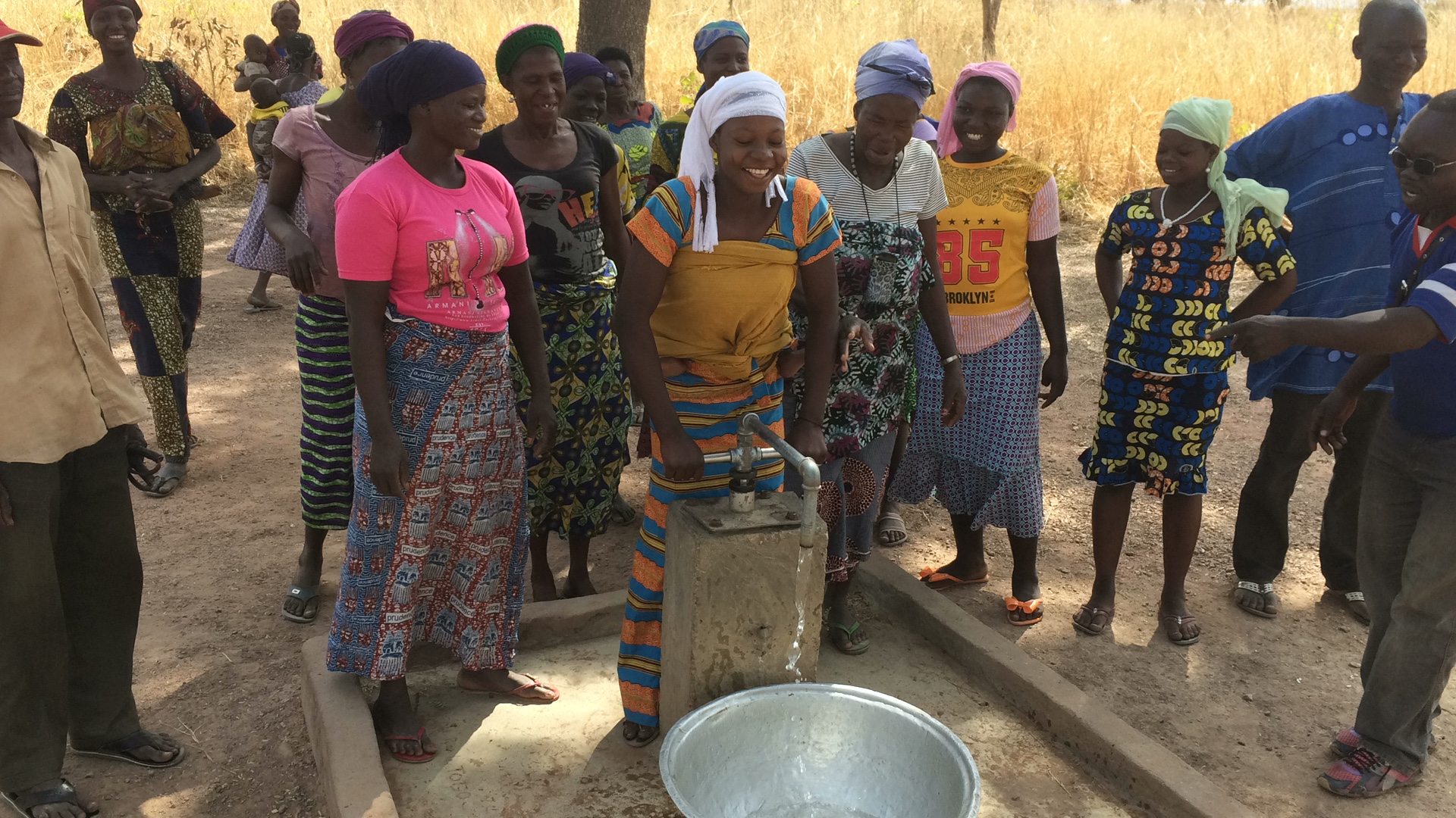 The Living Water Project hopes to fund many more Togo well in 2017 in communities like this one.