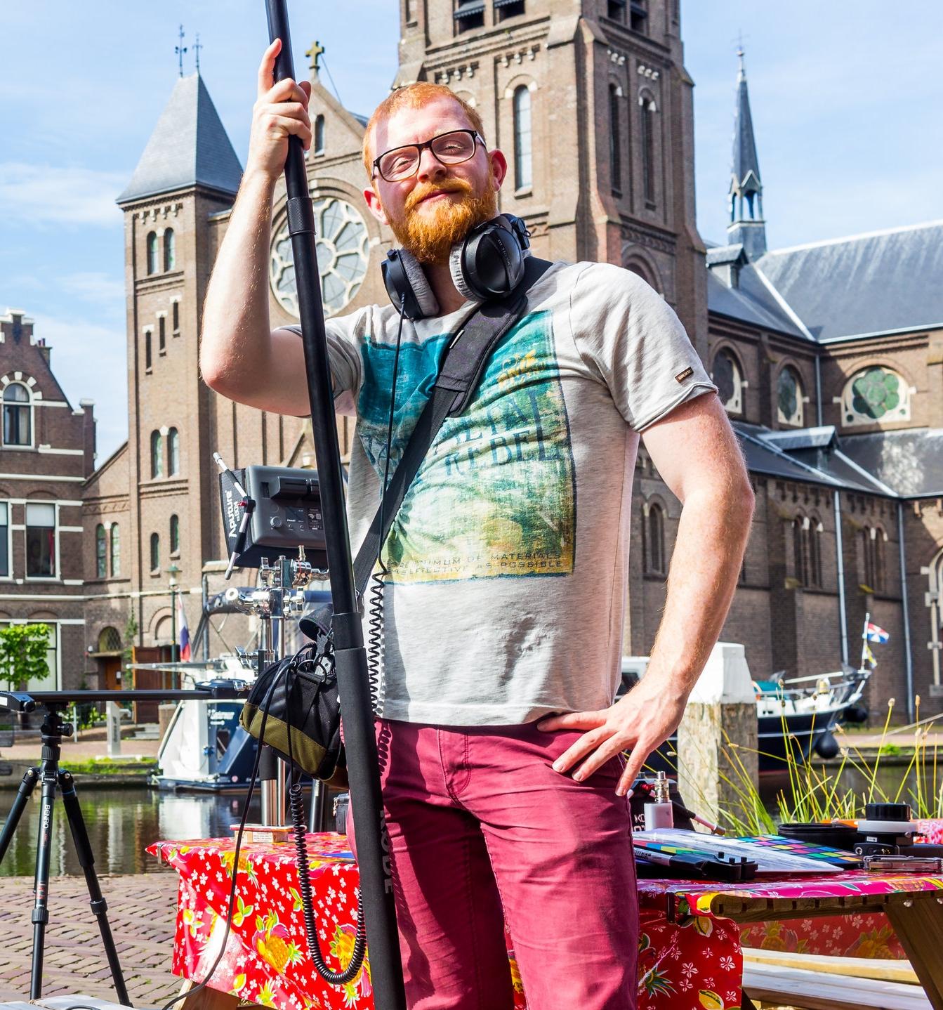 Sjors Maas   Sound Recordist