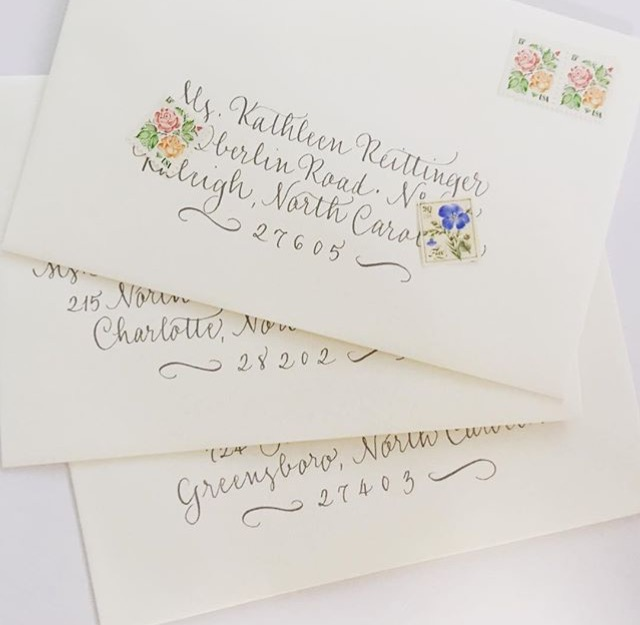 Calligraphy by Carole