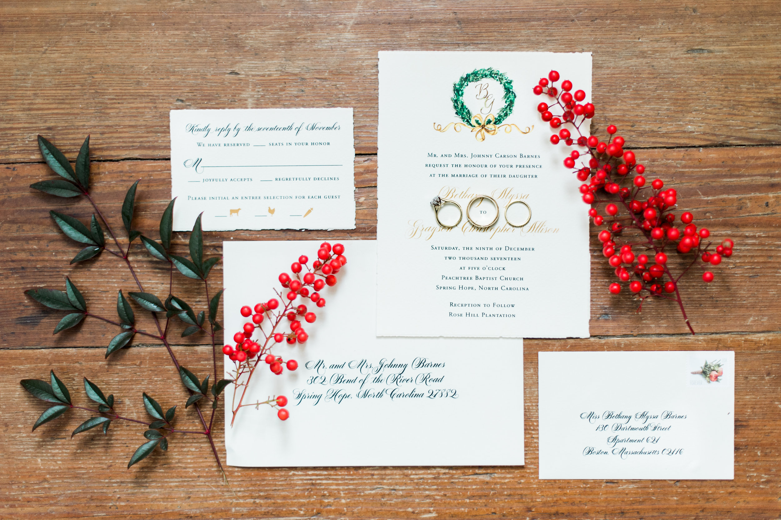 Flat print on Ivory Deckled Edge Paper | Photography courtesy of Missy Mimlitsch