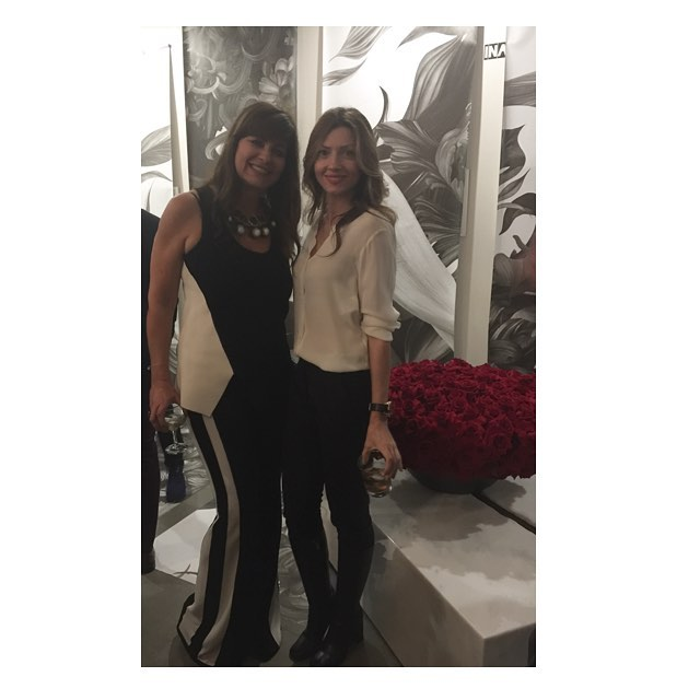 With beautiful and talented Gulla @gplusdesign for her @lapeerhotel  preview ✨congratulations!!!✨💫#hotel #design