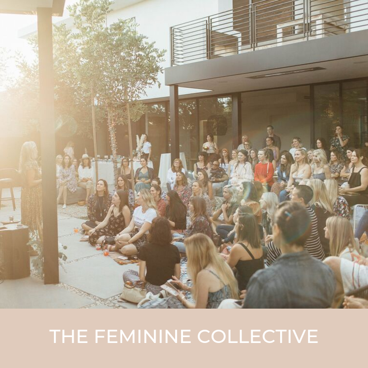 The Feminine Collective is a membership community for women that know the power of coming together, rising up and using their feminine leadership in the world. Your life is a reflection of who you are. It's time to do the work and co-create the life that you desire. We currently offer in person events, an expansive online portal, live coaching calls and a vibrant community of women entrepreneurs.  Want to experience The Feminine Collective for yourself before committing? We have an intro offer for $45 to come to the Collective in-person. The next meeting is 10/10/19 in Los Angeles, from 9:30am 12:30pm.    Click here for more info.