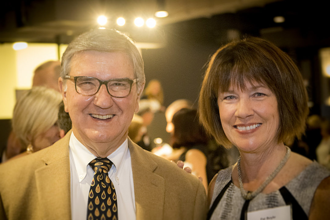 Board member Mike Vawter (Left) with Board President Pat Boyle (Right)