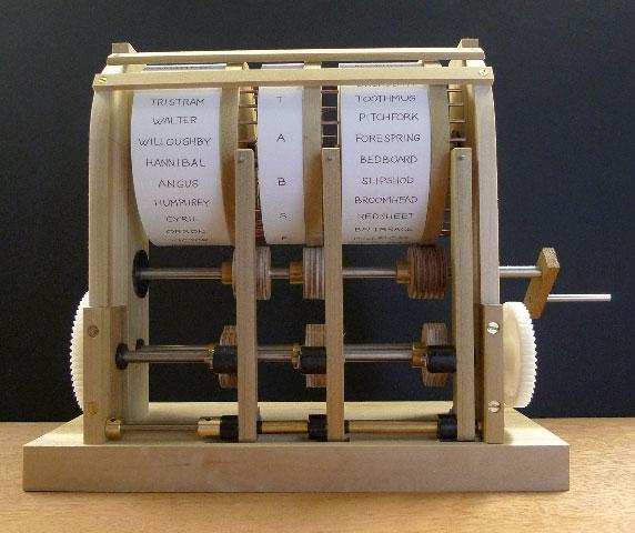 Paul Spooner's excellent automata machine