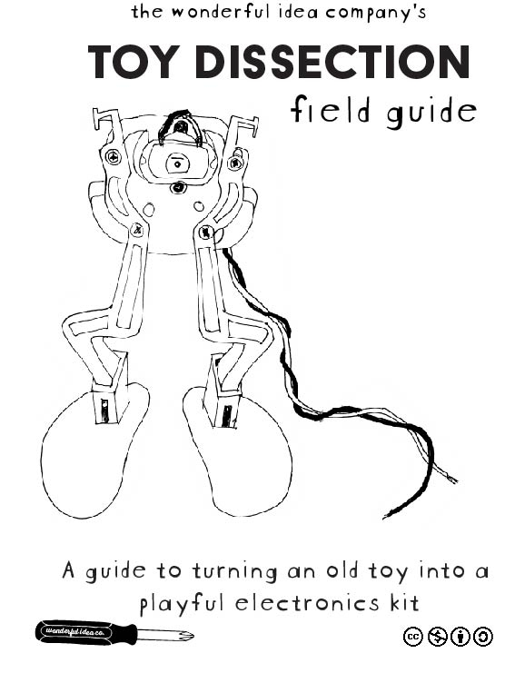 A field guide to turning an old toy into a playful electronics kit -