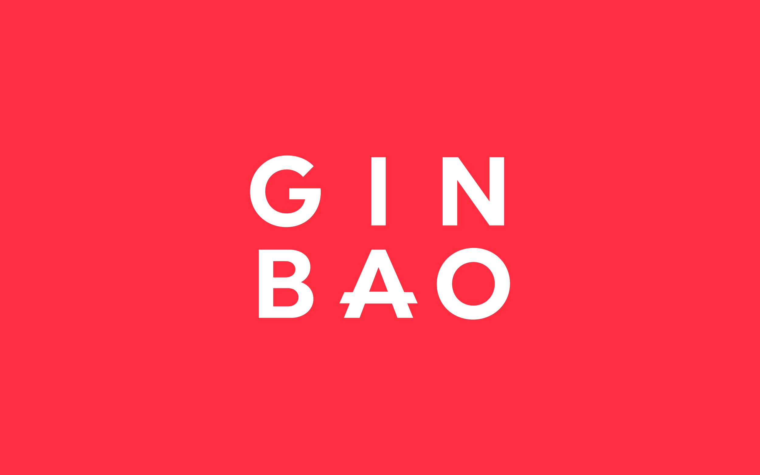 Mr. Mak's Ginbao logo design. Designed by Abby Haddican at Werner Design Werks.