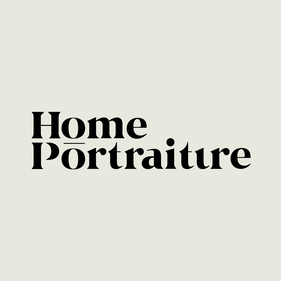 Home Portraiture logo designed by Abby Haddican