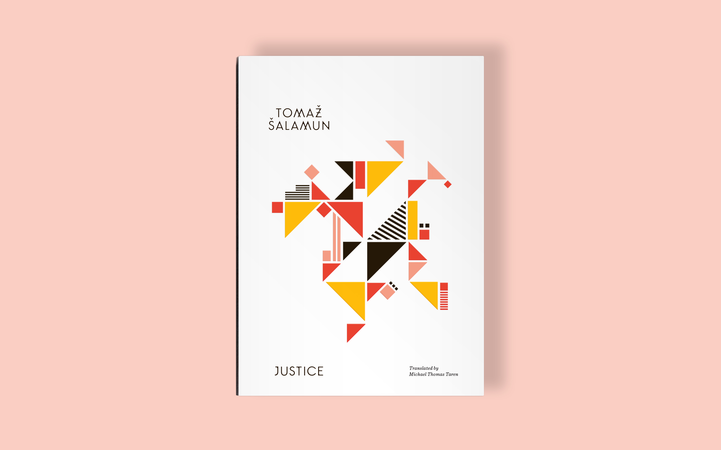 Justice book cover design by Abby Haddican