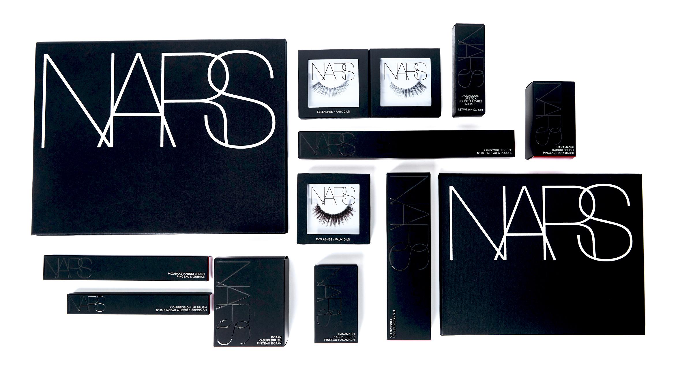 Nars Beauty - Cartons & Stylist Palettes