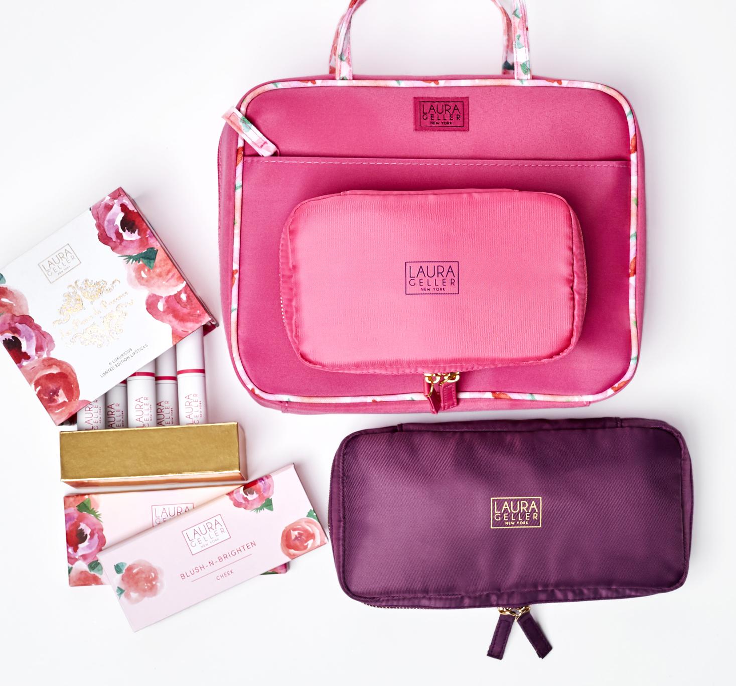 Laura Geller - Complete Set - Palette, Carton, Rigid Box and Makeup Cases