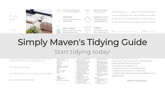 Simply Maven Tidying Guide!.png