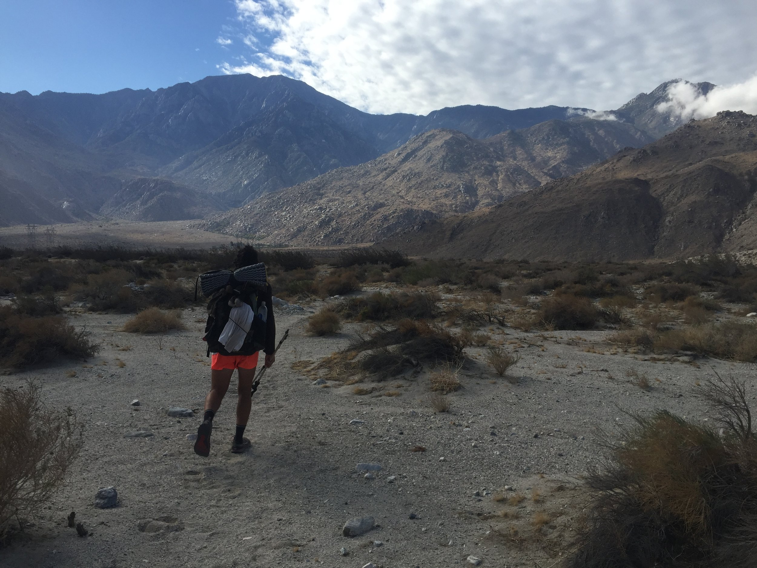 Late October in the San Gorgonio Wilderness - South of Big Bear Lake and near Whitewater Preserve