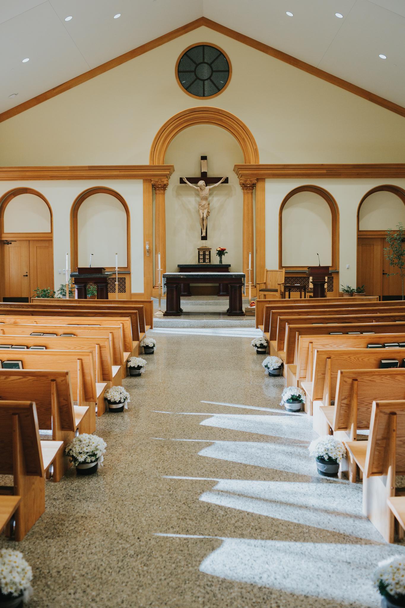 church sanctuary wedding