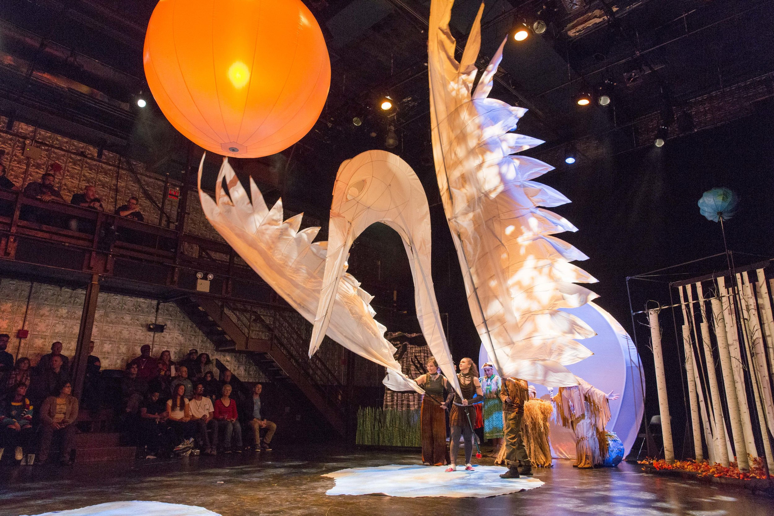 Crane: On Earth, in Sky by Ibex Puppetry
