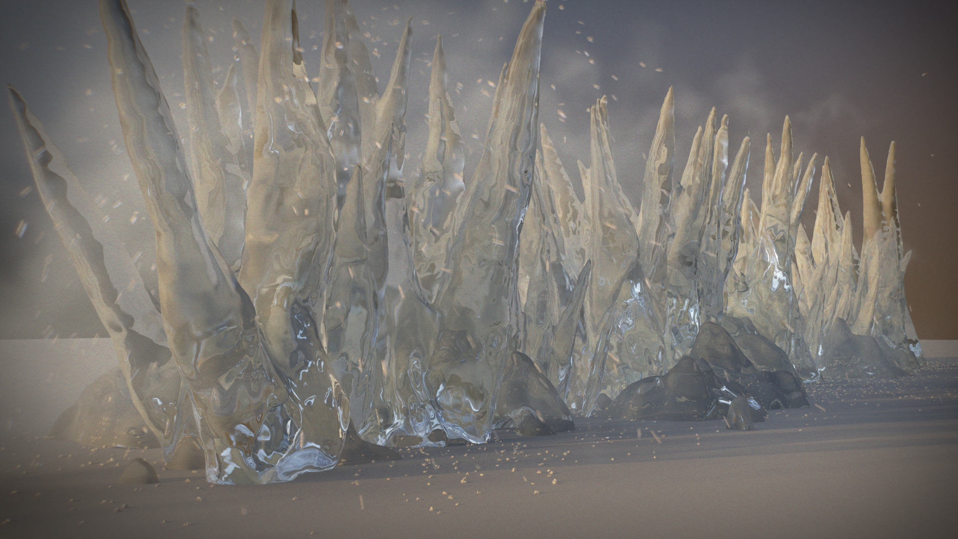 - Ice Growth