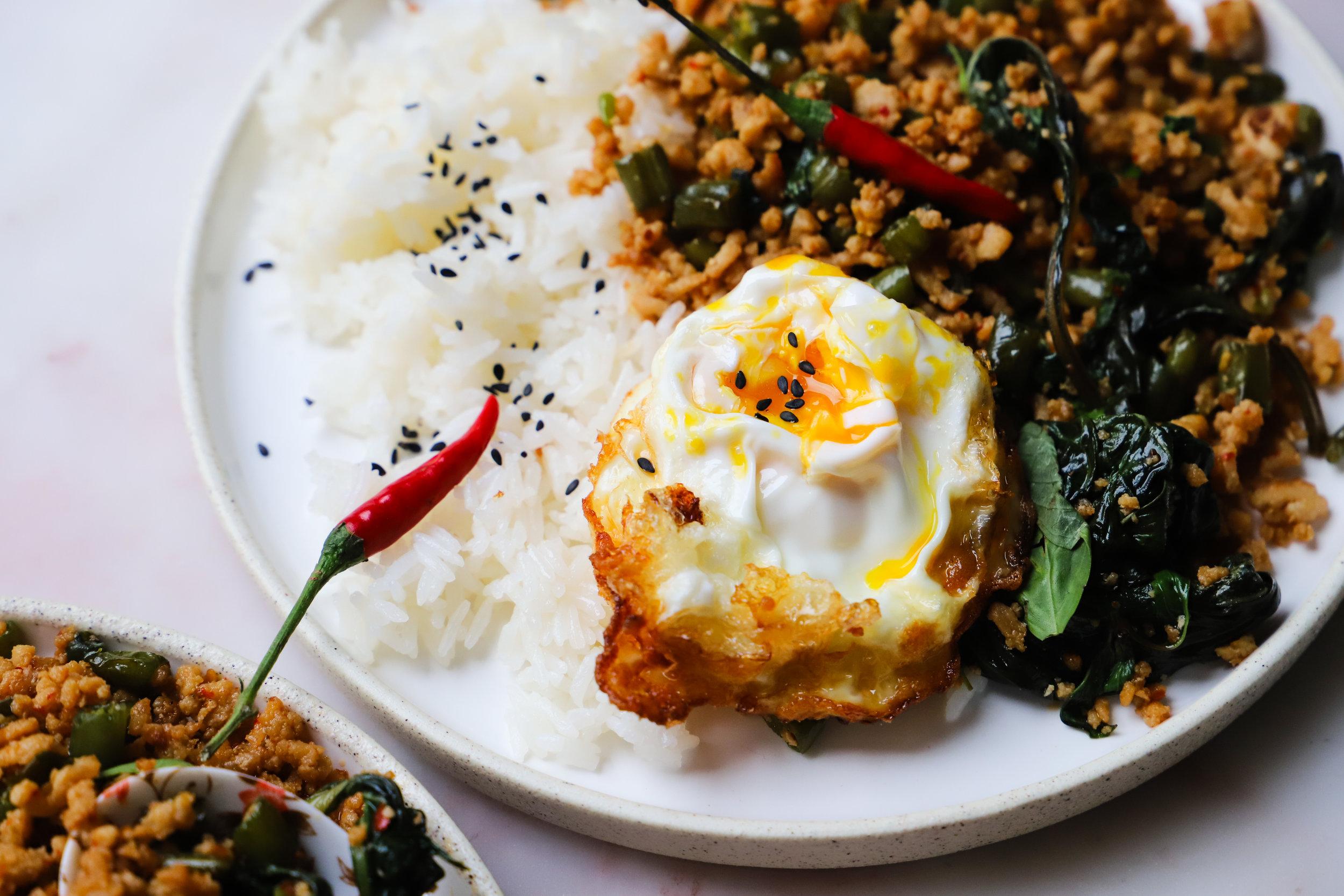 Thai Basil Chicken (Gai Pad Krapow))