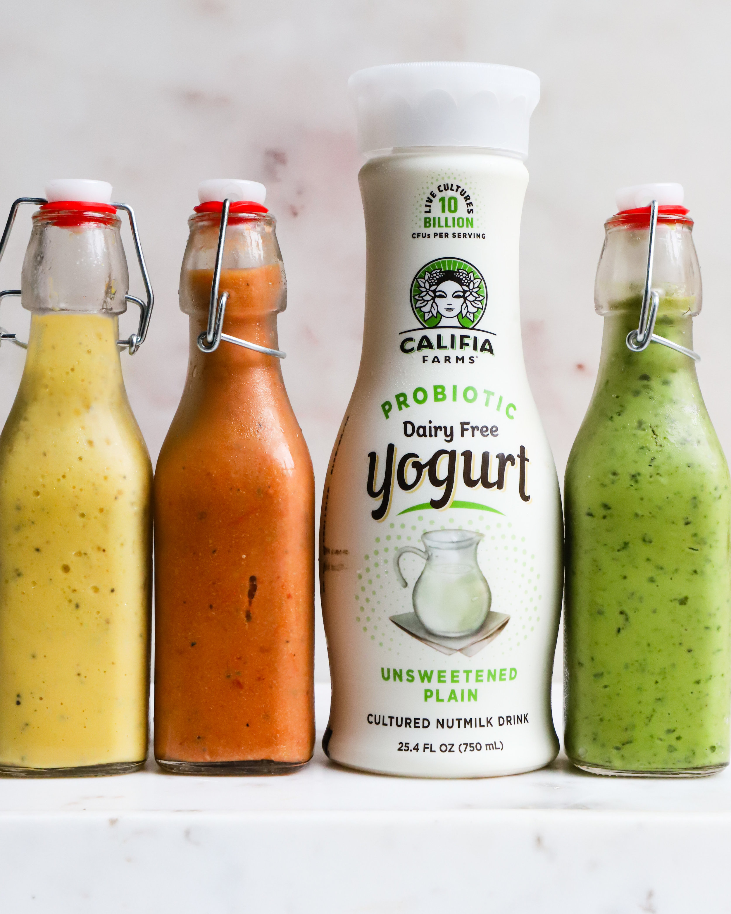 3 Plant-Based Yogurt Dressings