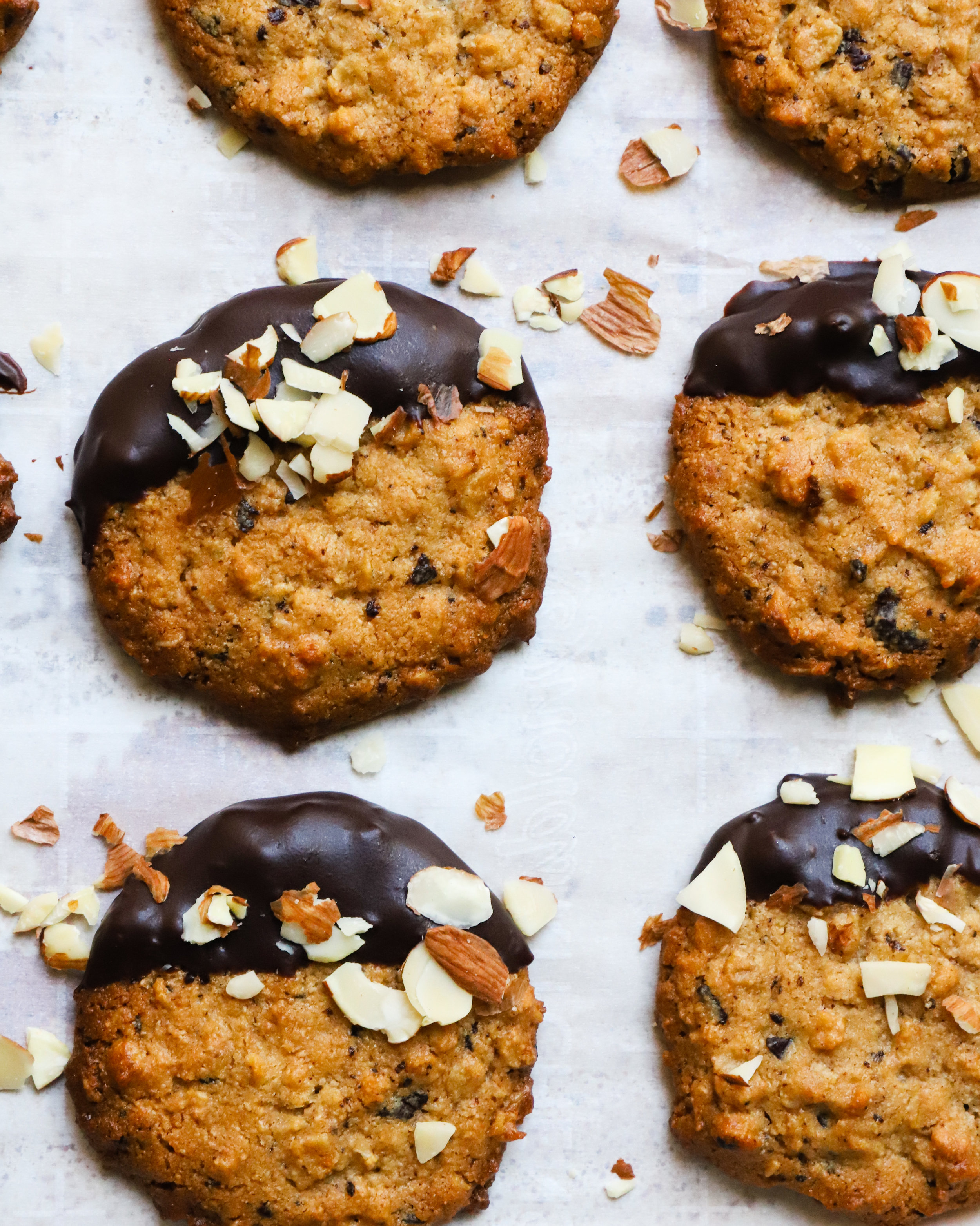 Tahini & Oat Cookies