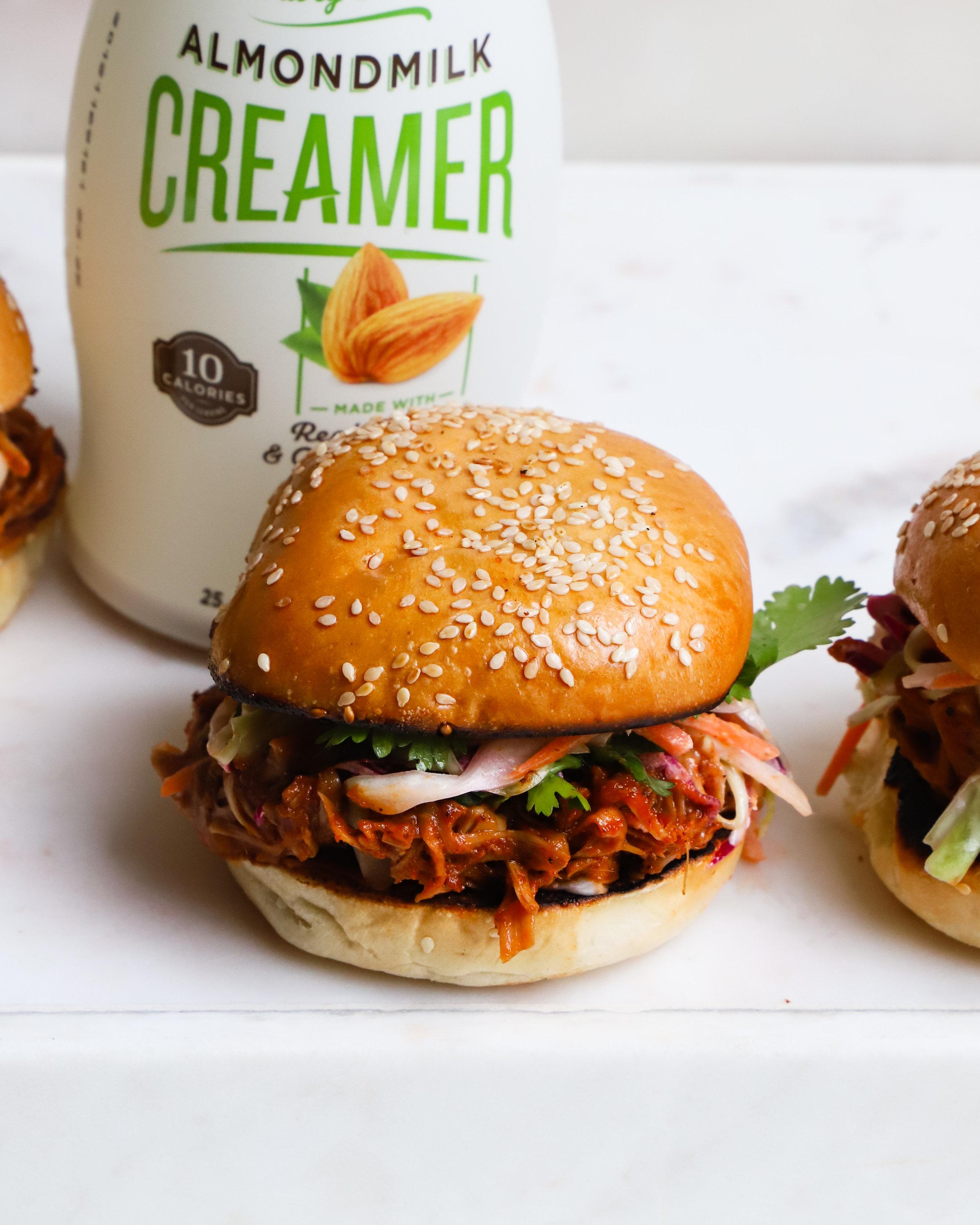 Jackfruit BBQ Sandwiches