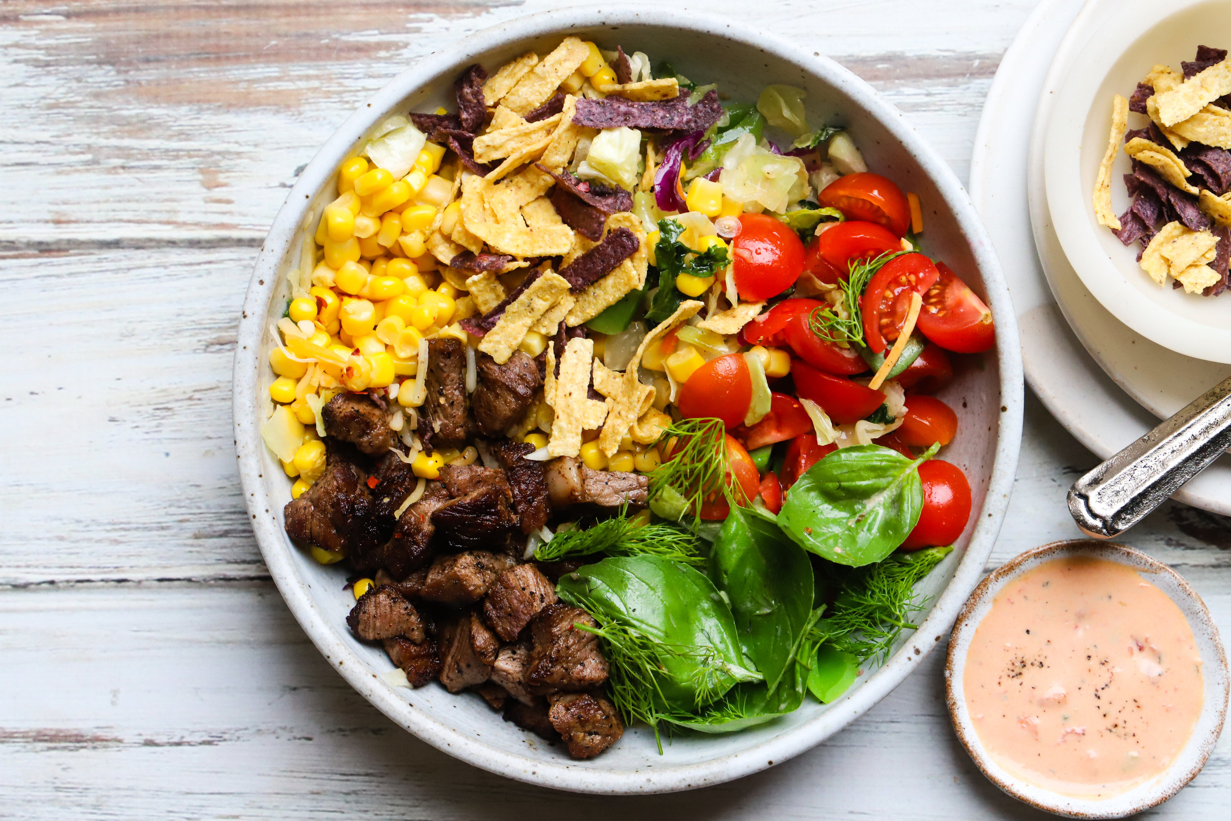 Taco Steak Salad