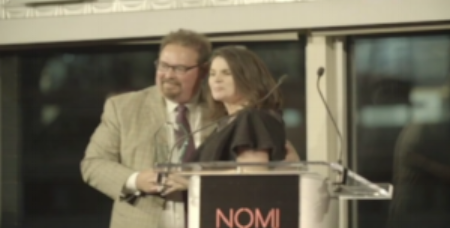 Click the image above to watch Ambassador Louis deBaca introduce Julia Ormond and present her with the Global Ambassador Award for her work to end human trafficking and slavery at the Nomi Network's 7th Annual Gala