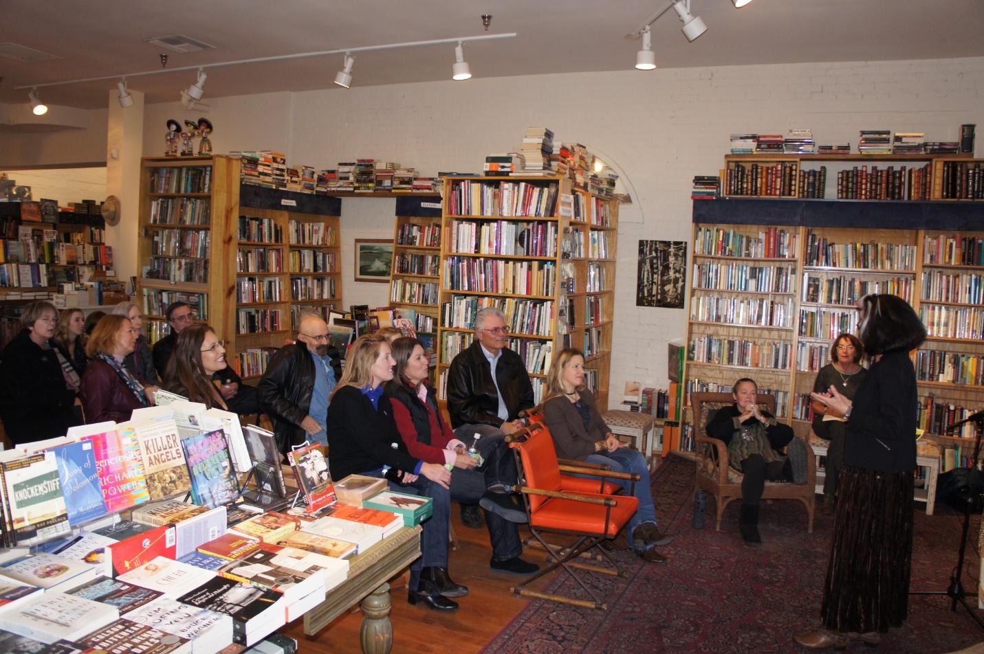 Book signing at Op Cit bookstore – Santa Fe, November 2013
