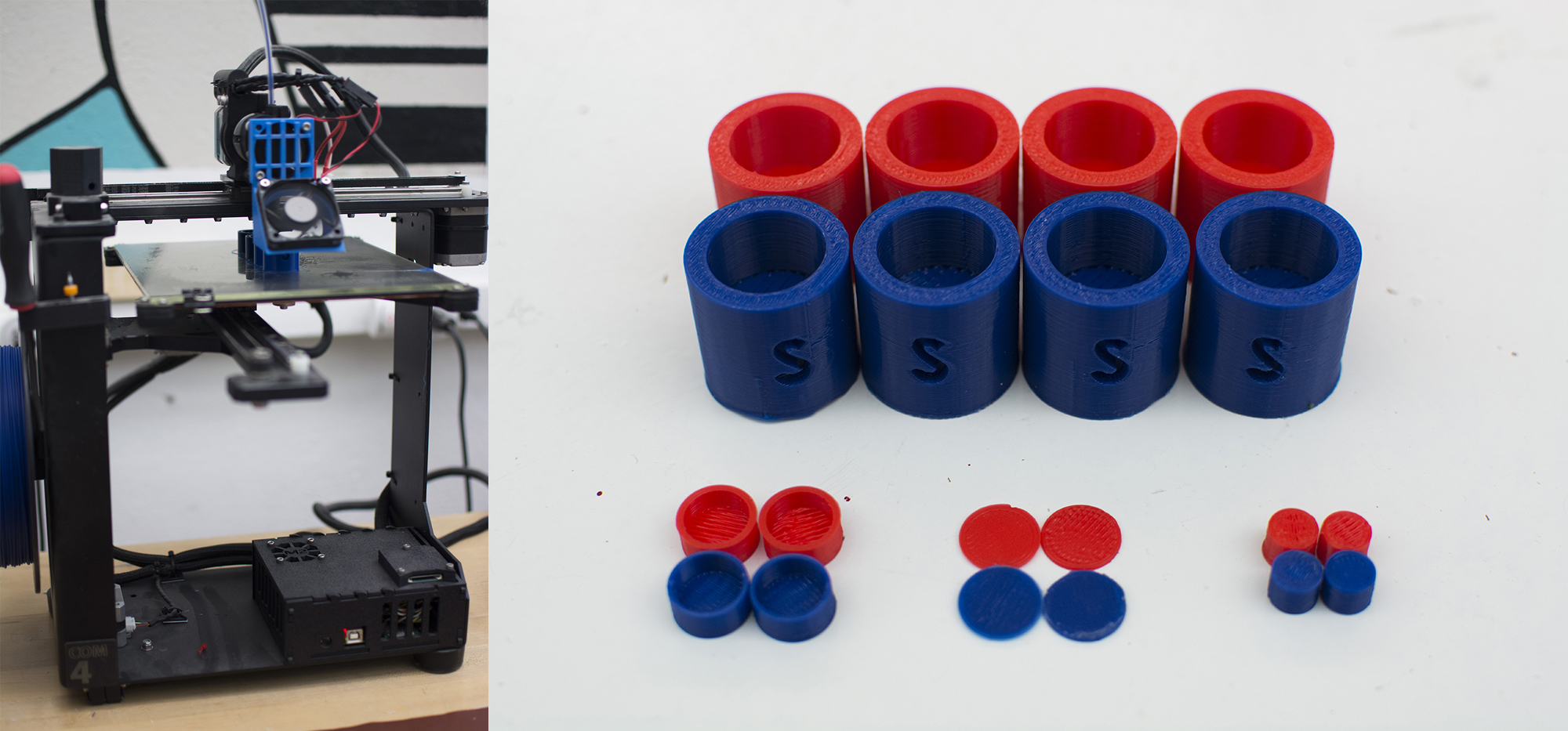 3D Printing 4 controllers (2 for backup)